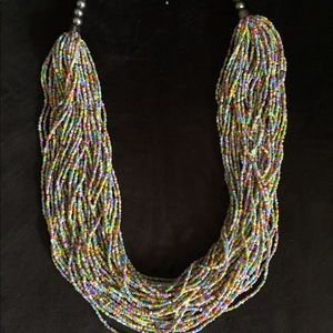 Jewelry - Beautiful African Beaded Necklace
